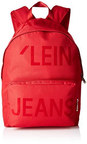 Calvin Klein Sp Essential Campus Bp 45 - Borse a spalla Uomo, Rosso (Racing Red), 1x1x1 cm (W x H L)