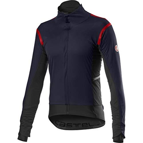 castelli Alpha Ros 2 Jacket, Giacca Sportiva Uomo, Savile Blue, L
