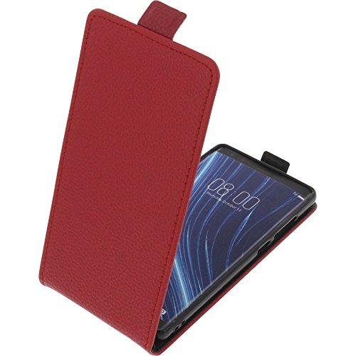 foto-kontor Tasche für Archos Diamond Omega Smartphone Flipstyle Schutz Hülle rot