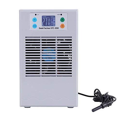 nobrand Wasserkühler für Aquarien, 100 – 240 V, für Wassertank-Kühler, für Salzwasserpflanzen