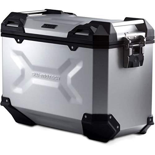SW-MOTECH TRAX ADV L Aluminium Seitenkoffer 45L, Rechts, Silbern