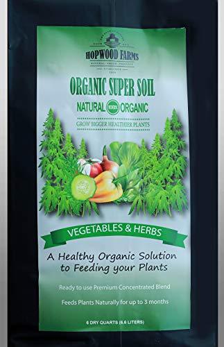 Organic Super Soil (6 Dry Quarts) - Hopwood Farms - YT: Illinois Growers Club