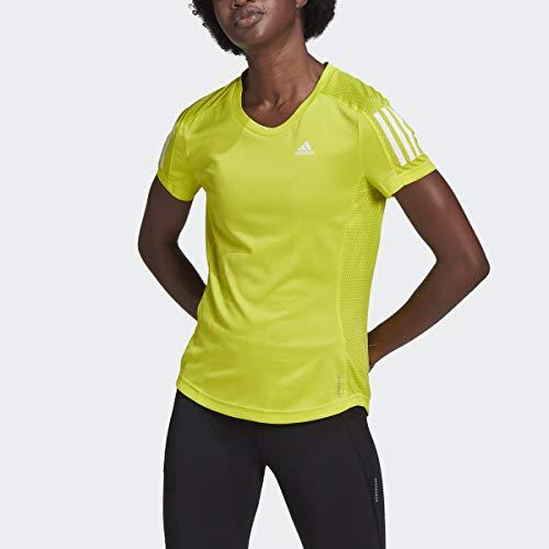 adidas Camisa para Mujer Own The Run Acid Yellow. M