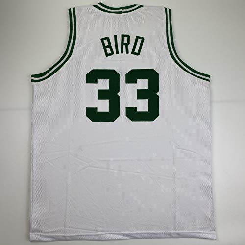 Unsigned Larry Bird Boston White Custom Stitched Basketball Jersey Size Men's XL New No Brands/Logos