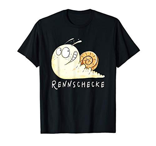 Coole Rennschnecke I Lustige Schnecke I Schnecken Fun T-Shirt