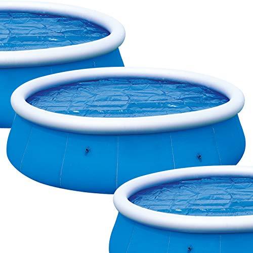Denny Shop Solar Pool Cover for 8ft, 10ft, 12ft & 15ft Inflatable Fast Set...