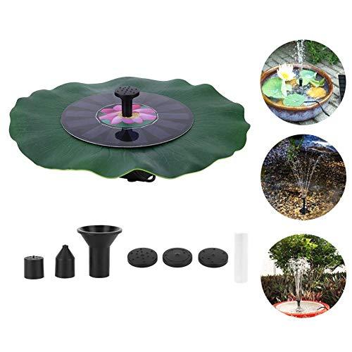 Cafopgrill fontein op zonne-energie, 7 V, 1,4 W, borstelloze motor, waterpomp, vijver, tuin, decoratie voor zwembad, vijver en tuin