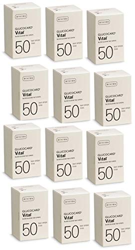 Arkray Glucocard Vital 600 Test Strips for Glucose Monitor