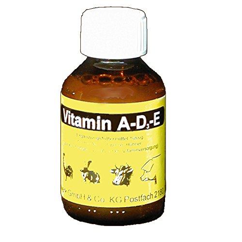 KLAUS - Vitamin A-D3-E - 100 ml - zur zusätzliche und kurzfristigen Vitaminversorgung bei allen Tieren