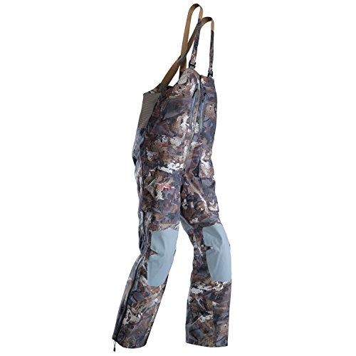 Sitka Men's Hudson Waterproof Hunting Bib, Optifade Timber, Large