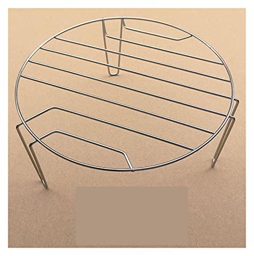ZYTANG Horno de microondas General Grill Ronda 3 pies Barbacoa Piezas del Horno de microondas de la Bastidor asado 20.8x9.3cm