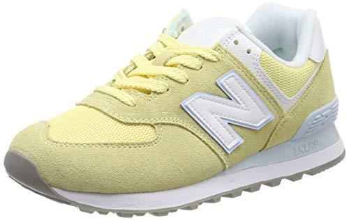 New Balance 574v2, Zapatillas para Mujer, Amarillo (Sun Glow/Air NB Esg), 40 EU