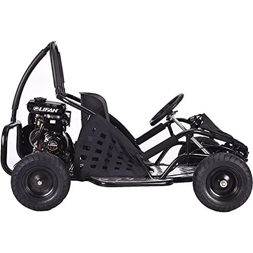 MotoTec MT-GK-05 Black Off Road Go Kart - 79Cc
