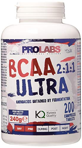 Prolabs Bcaa Ultra 2.1.1 - Kyowa - 200 compresse