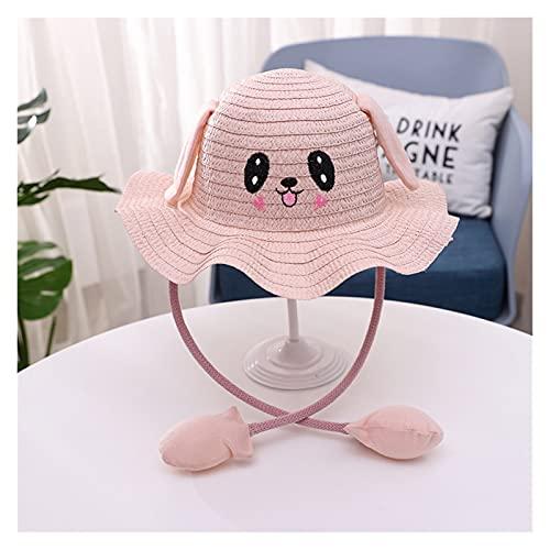 Chapeau de soleil pour enfants Chapeau de seau enfants chapeau bouger oreilles mignon dessin animé jouet chapeau de paille garçons filles chapeau drôle chapeau cadeau d'anniversaire cadeau de soleil e