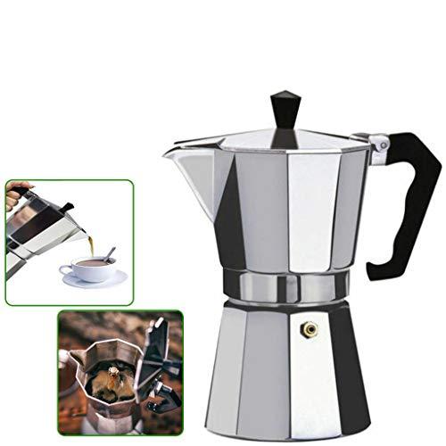 Small Aluminum Italian Espresso Coffee Maker 1 Cup Italian Stove Top Coffee...