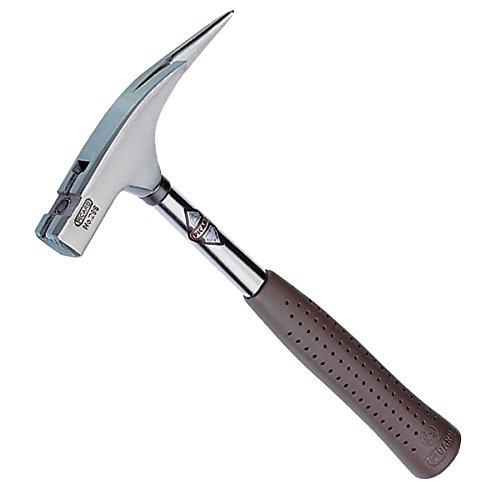 Picard - Latthammer mit magnetischem Nagelhalter, Hammerkopf fein blank, brauner Spezialgriff 600 g, Nummer 29800