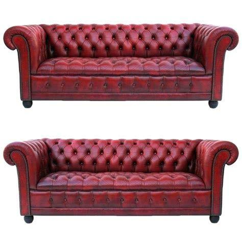 JVmoebel Chesterfield Sofagarnitur 3+3 Sitzer Couch Polster Garnituren Ledersofa...