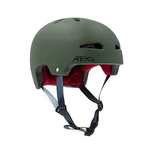 REKD Ultralite In-Mold Helmet Skateboardhelm Unisex Adult, Unisex, RKD259, Grün (Green), 53-56 cm