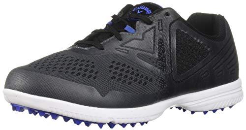 Callaway Women's Halo SL Golf Shoe, Black/Grey, 8.5 M US