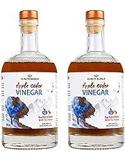 Reineta Blanca - Vinagre de Sidra de Manzana, con La Madre, Crudo, Sin Filtrar, 2 x 500ml, Sierra de Gredos, Producción Artesanal