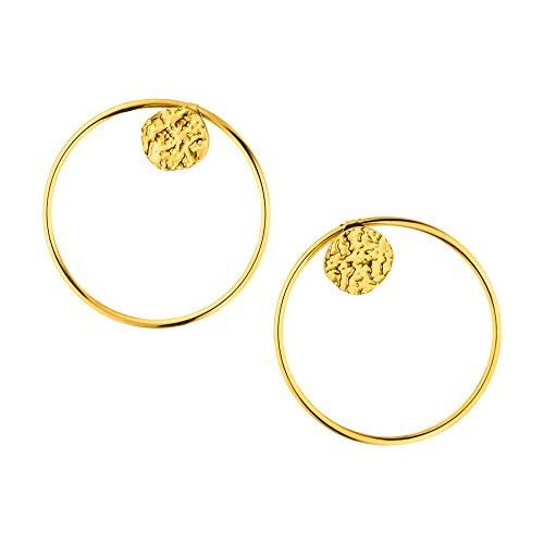 PURELEI® Malihini Creole Ohrringe (Gold, Vergoldet)