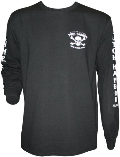 Time Bandit Next Generation Long Sleeved T-Shirt (3XL) Black