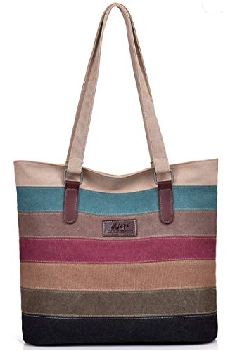 Material: Breathable. Lightweight Fabric. Leather Matching. Structure: The Size Of The Backpack Was 12.99''Lx12.59''Hx5.51''W (33x32x14cm) And The Weight Was 0.5kg. Features: Multi-Colored Vintage Canvas Stitching Design. Leather Matching, The Choice...