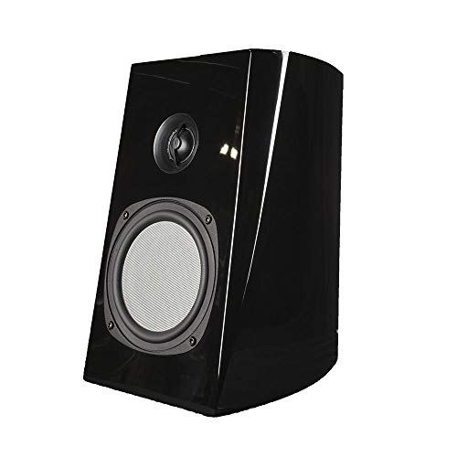 Lowest Price! Phase Tech PC1.5 6.5 Black Bookshelf Speaker 150W 4 Ohm Home Audio