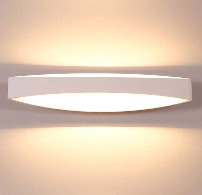 Moderne Wandleuchte Led Wandleuchte Lampe 12 Watt Eisen Wandleuchte Für Schlafzimmer Wohnzimmer Dekorative Sprühfarbe Matt 44,5  10 Cm
