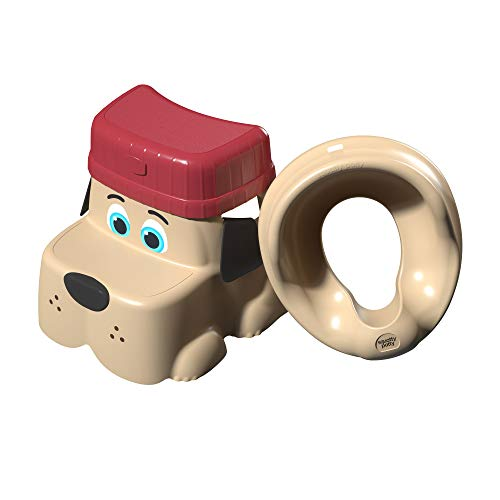 Squatty Potty Kids Pet Toilet Stool Kit Pup Base with Hat and Seat, 2.5 Pound