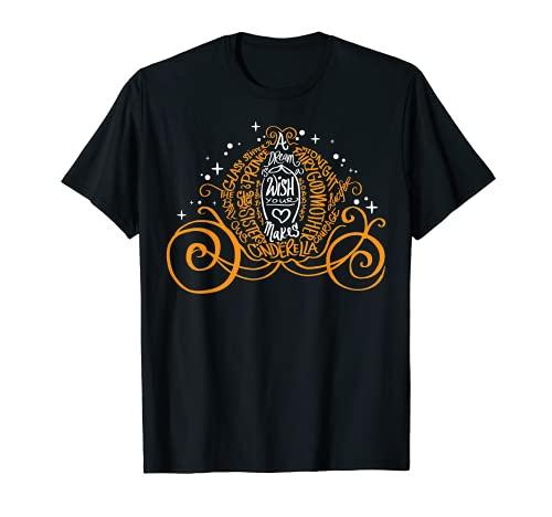 Disney Cinderella Halloween Pumpkin Coach Graphic T-Shirt