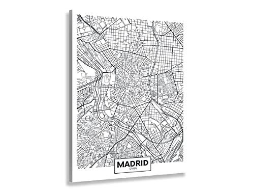 Hexoa Cuadro Madrid Spain – Made in France – Cuadro cristal acrílico – 60 x 100