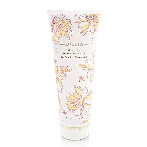 Lollia Shower Gel | Nourishing Body Wash | Cleanses and Moisturizes Skin | Finest Ingredients Including Shea Butter & Aloe Leaf