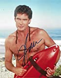 FP David Hasselhoff - Baywatch Signiert Autogramme 25cm x 20cm Foto