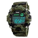 Tanypro Skmei1197 - Reloj de pulsera digital resistente al agua...