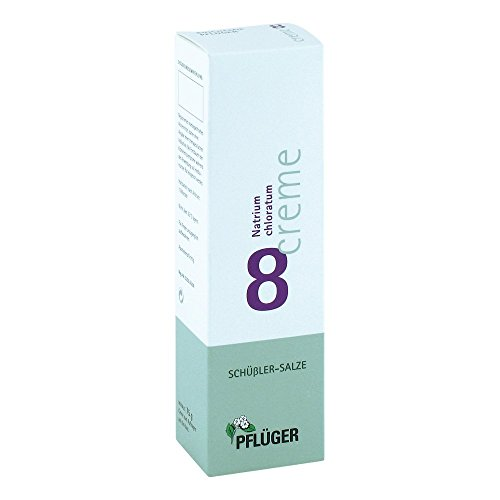 Pflüger Schüßler-Salze 8 Natrium chloratum, 75 g Creme