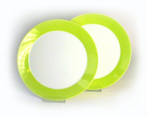 Arzberg Form Tric 2er Set Frühstücksteller 22cm grün