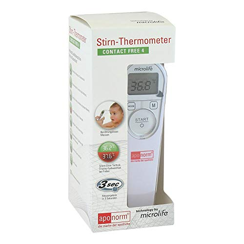 APONORM Fieberthermometer Stirn Contact-Free 4 1 St