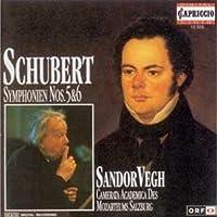 Symphonies 5 & 6 by F. Schubert (2008-12-15)