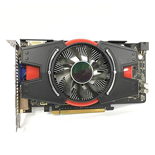 QINGMEI Graphics Fan Graphics Card Fit for ASUS Graphics Card GTX 550 Ti 1GB 192Bit GDDR5 Video Cards for NVIDIA Geforce GTX 550Ti VGA Cards Equivalent GTX650 Game Graphics Card