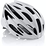 TeamObsidian Airflow Bike Helmet - for Adult Men & Women and Youth/Teenagers - CPSC Certified Bicycle Helmets for Road, Street or Mountain Biking - Best Cycling Gift Idea [ White M/L]