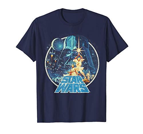Star Wars Vintage Victory Collage Cover Z! Camiseta