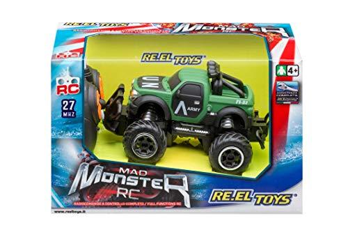 Re.el toys Re el toys 2256 - Mad Monster 14 Cm Radiocomando A Controllo Completo (Assortime