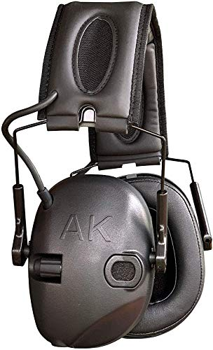 AKT1 Sport Sound Amplification Earmuff, Electronic Hearing Protection for Shooting Sports & Impact...