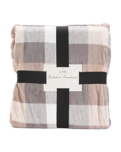 Berkshire Velvet Farmhouse Blanket ( Full/ Queen )