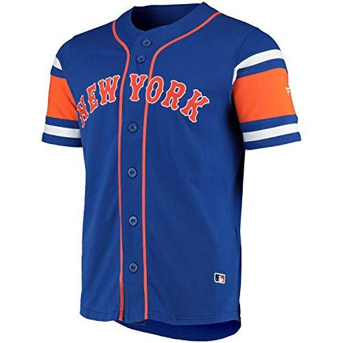 Fanatics New York Mets MLB Supporters Jersey Fantrikot Blau, M