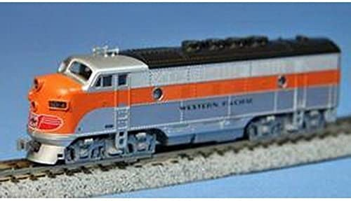Kato USA Model Train Products EMD F3A  802A Western Pacific N Scale Train by Kato USA Model Train Products (English Manual)