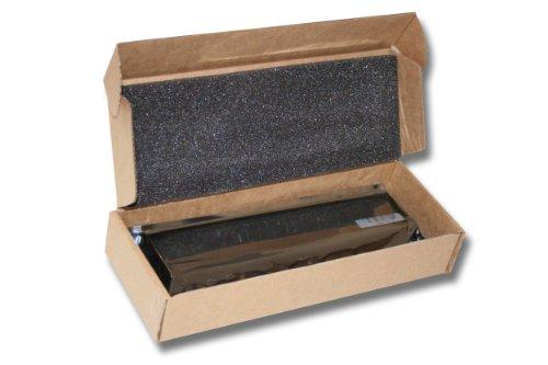 vhbw Li-Ion Akku 4400mAh (11.1V) schwarz für Notebook Laptop Lenovo IdeaPad Y650, Y650A, ThinkPad X100e, X120e, Edge 11 wie 0A36278, 57Y4558, 57Y4559.