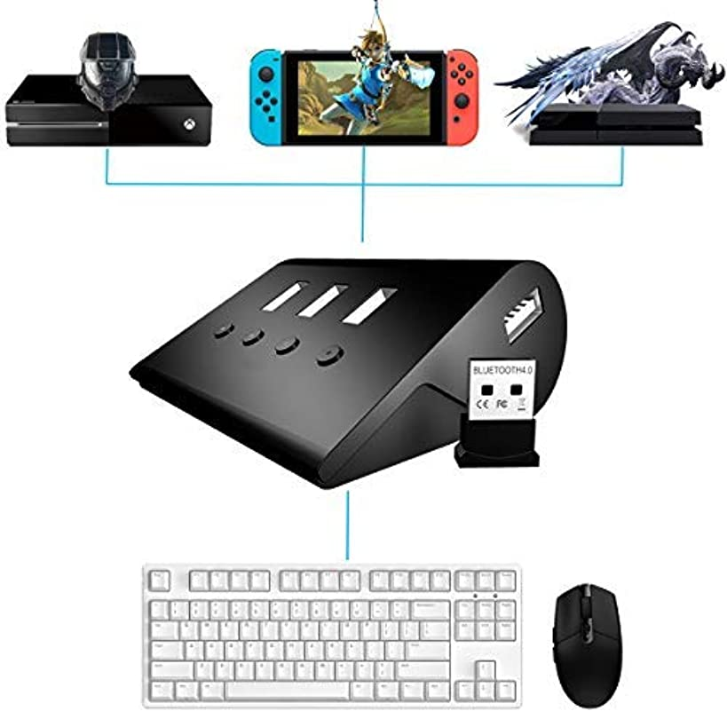 Tico Nico Keyboard and Mouse Adapter for Nintendo Switch/PS4/Xbox One/PS3/Xbox 360[updated version]